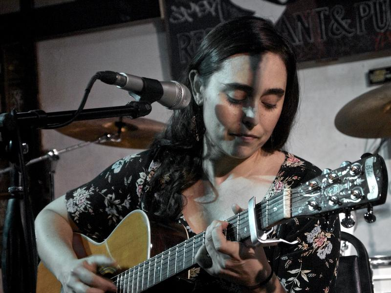 Solo artist Raffa performed at the Miami Girls Rock Camp benefit on Friday, March 6.