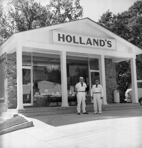 Holland's restaurant in 1963.