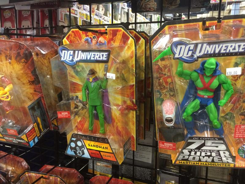 Hundreds of booths selling toys like these and other more valuable collectibles at Florida SuperCon in Miami Beach.