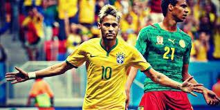 ROLE MODEL: Neymar before his World Cup injury.
