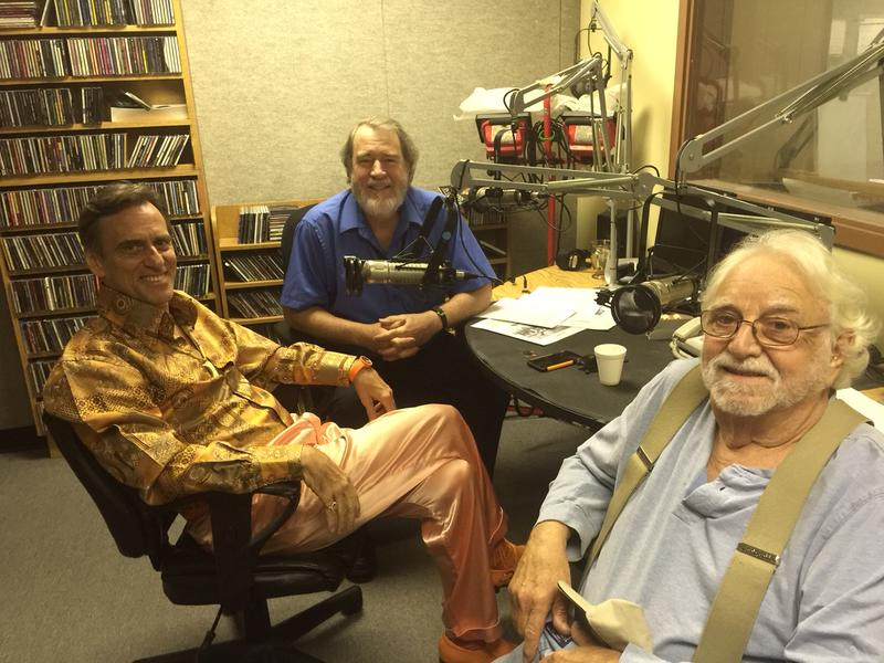 Ed bell, Artie Resnick and Dale Powers (center)
