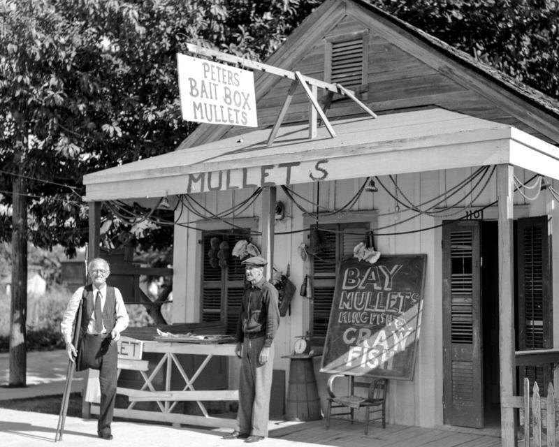 A Key West bait shop.