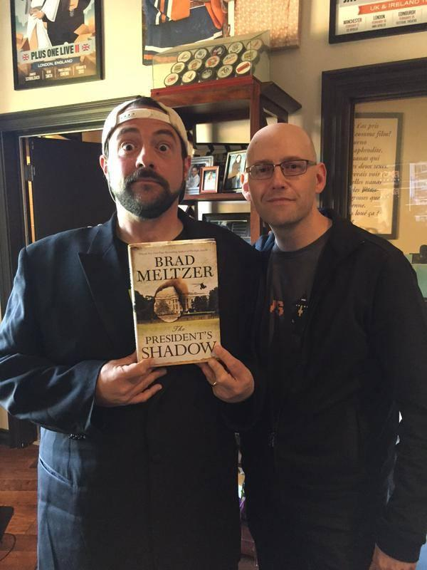 Kevin Smith and Brad Meltzer