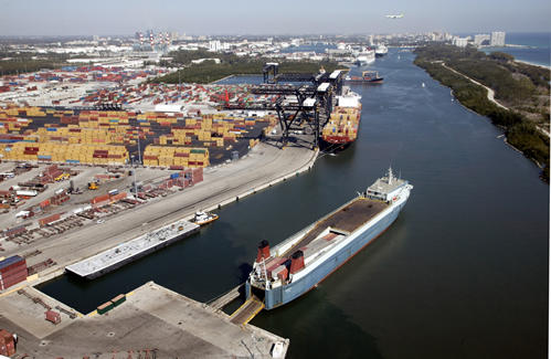 A planned expansion of Port Everglades involves dredging that environment groups fear will harm endangered corals.