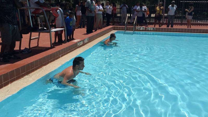 Commissioners Race For Free Admission To Public Pools Wlrn