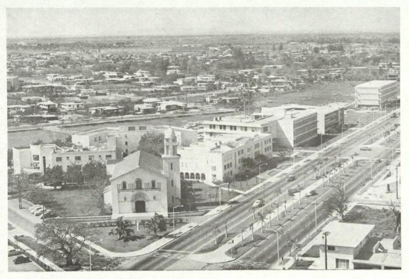 The campus of the Universidad de Santo Tomas de Villanueva in Havana, Cuba.
