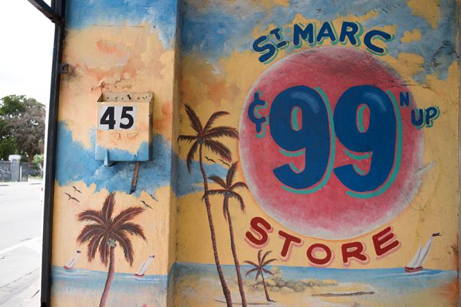 St. Marc's 99c Store in Little Haiti.