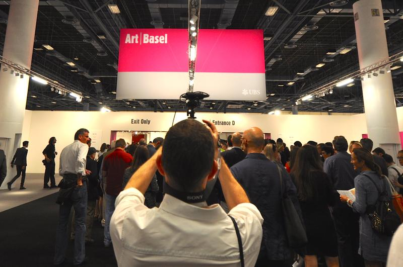 Art Basel Miami Beach 2014 hosted 73,000 people over its five days.