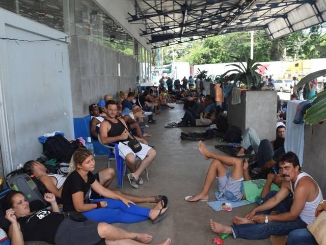 Cuban migrants on their way to the United States are stranded in Central America.