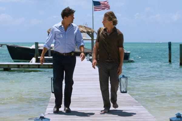 Kyle Chandler and Ben Mendelsohn starred in the first season of 'Bloodline' on Netflix. The second season is shooting now.