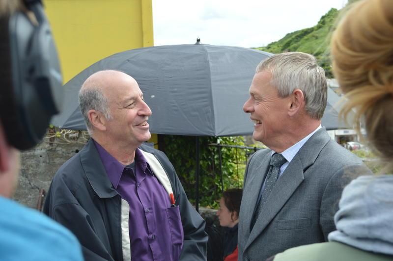 David Rubinsohn and Martin Clunes
