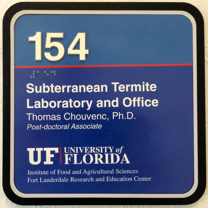 The University of Florida maintains two termite labs at its Research and Education Center in Davie.