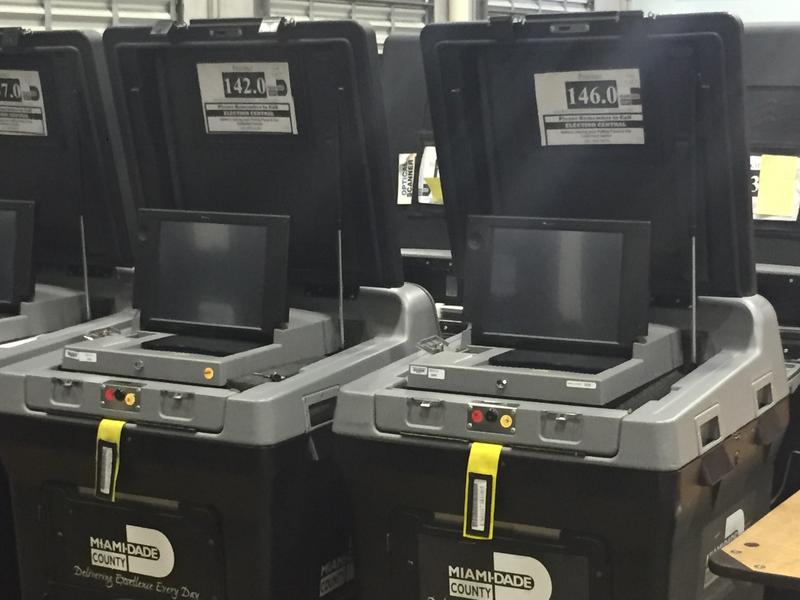 Voting equipment has been checked and sent out for Miami-Dade voters in preparation for the March 15th primary election.