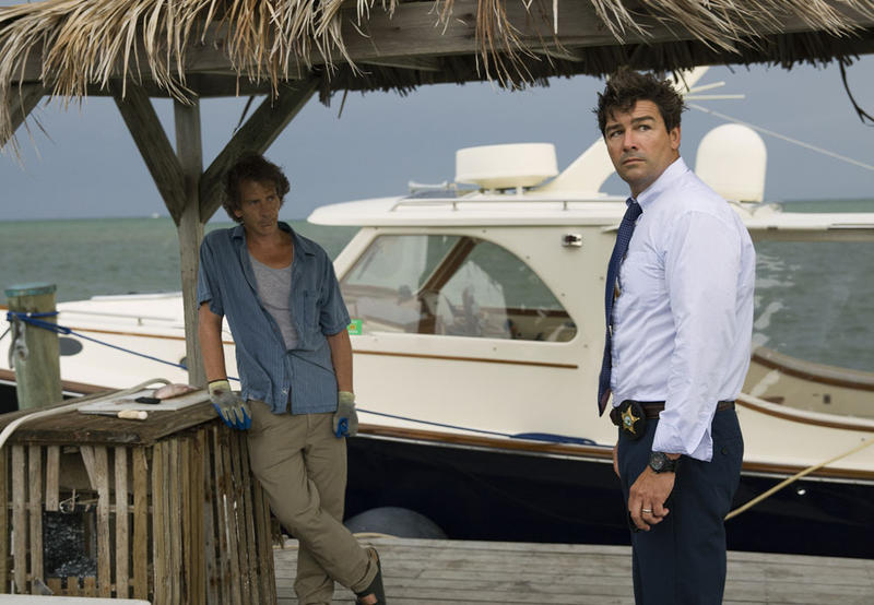 'Bloodline' is a dark drama that stars Ben Mendelsohn, left, and Kyle Chandler, right, as brothers in the prominent Rayburn family of Islamorada.