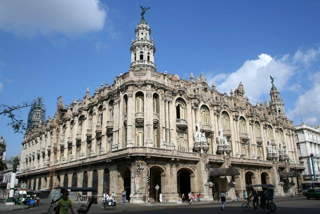 The Gran Teatro de la Habana, where President Obama will deliver a speech to Cubans next week