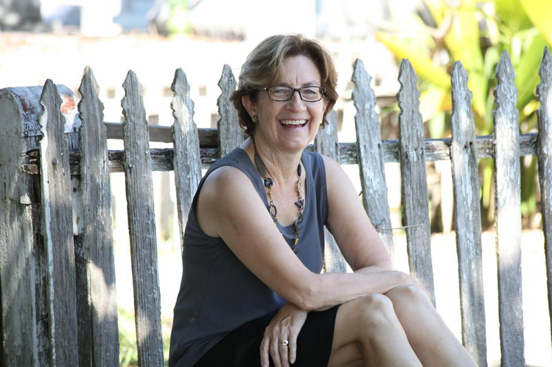 The Key West Food Critic mystery series is written by Lucy Burdette — pen name for Key West resident Roberta Isleib