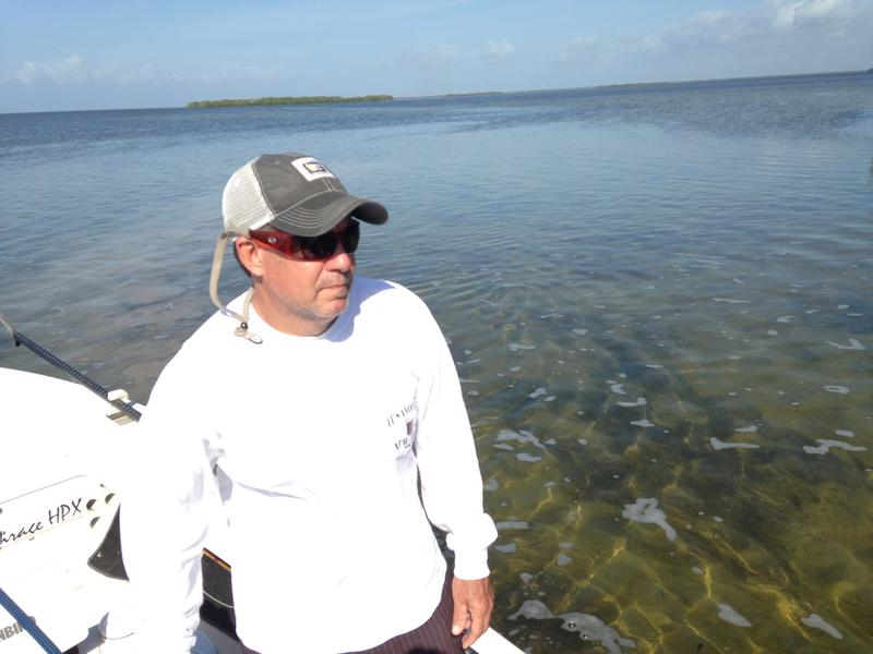 Fishing guide Tad Burke has been through one collapse of Florida Bay and fears the ecosystem could be headed for another.