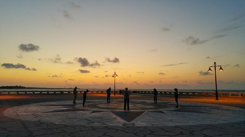 The Key West Water Dance is scheduled to take place at sunrise on Saturday, April 16.