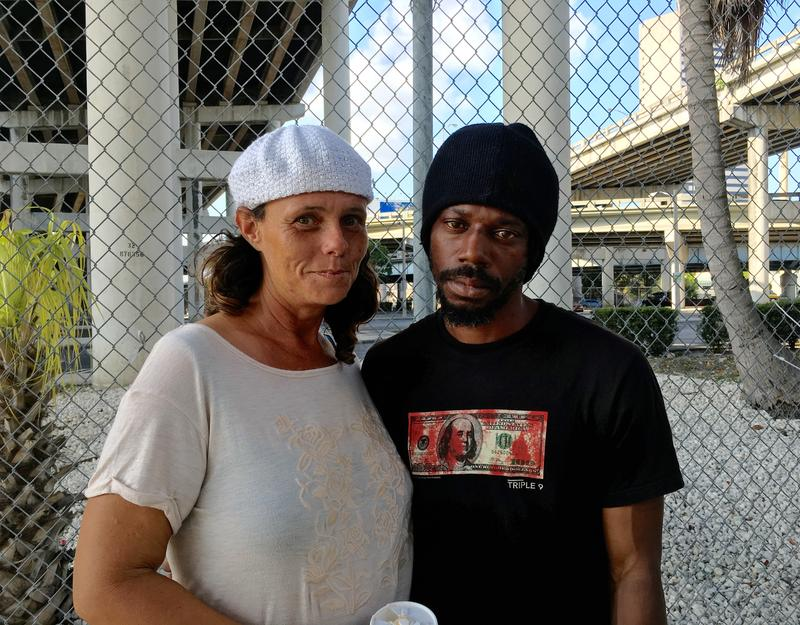 Lucy Perry, left, and William Royal both lost their food stamps. With the help of a lawyer, their assistance has been reinstated.