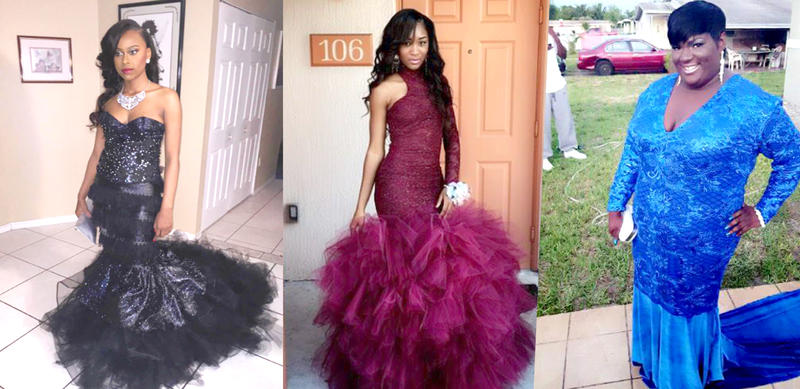 Some teens are opting out of store-bought dresses for custom-made prom gowns. Miami designer Desmond Hanks designed these dresses and says prom is a busy season.