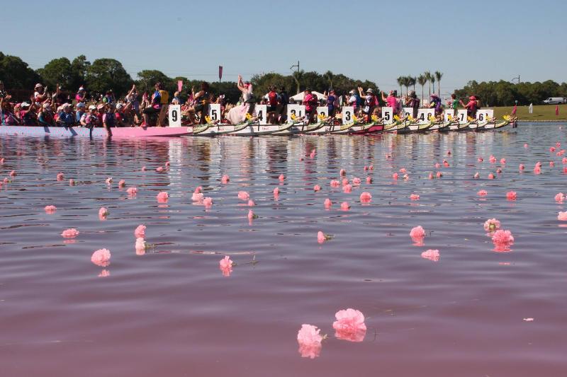 Flower Ceremony, IBCPC Dragon Boat Festival, Sarasota Festival