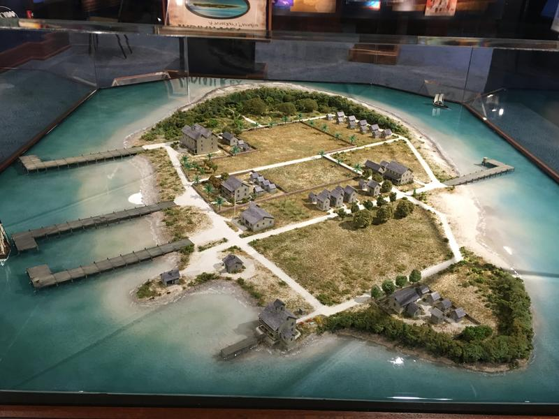 A new 3-D model of Indian Key at the Florida Keys History & Discovery Center aims to bring more attention to the island. It's now a state park.