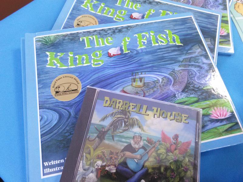 Some of the books available for children to read at Top Cuttaz.