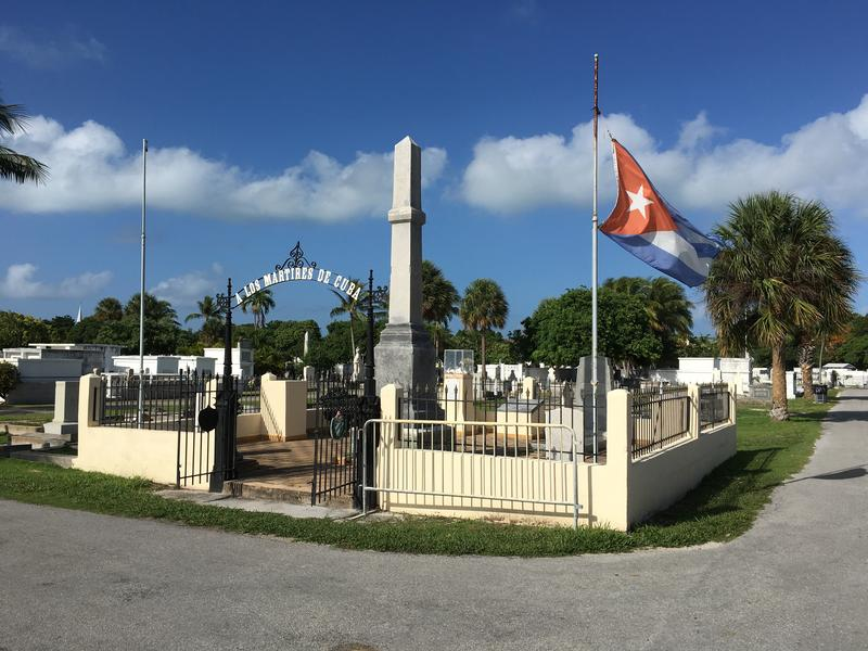 This plot is dedicated to those killed in Cuba's Ten Years War, from 1868-1878. The plot is owned by the Republic of Cuba.