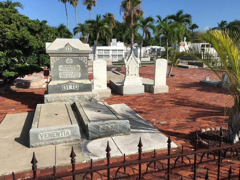 The Otto family is best known in Key West today for Robert the Doll — but as their elaborate plot at the cemetery shows, the family was devoted to their pets.