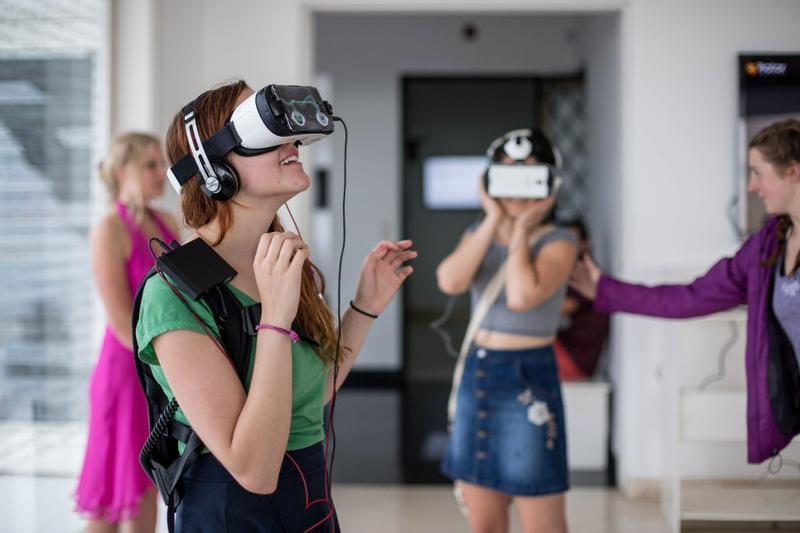 Participants of the VR Film Festival in Havana.