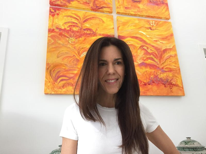 "Give to Colombia founder Angela Maria ""Nai"" Tafur at her home in Key Biscayne."