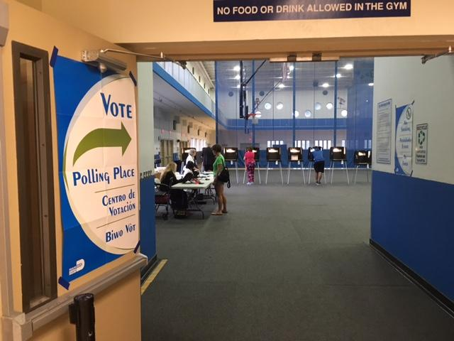 Election polls in Florida are open from 7 am to 7 pm.