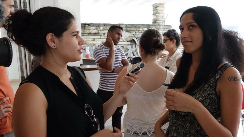 I interview Claudia Balmaseda at the Ludwig Foundation in Cuba, one of few foundations that operate in Cuba. It  focuses on helping young emerging artists. Claudia Balmaseda is a film editor.