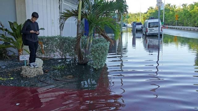 Miami Beach residents deal with regular flooding, but hurricanes add extra dangers even when the skies clear.