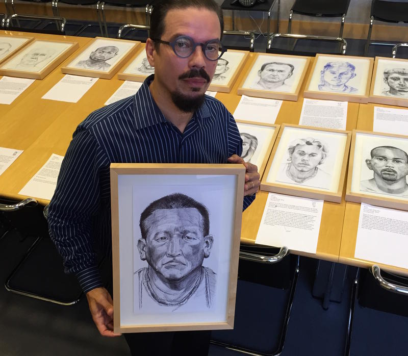 Krome portraits aim to humanize immigrants in a season of demonization wlrn - Jose alvarez ...