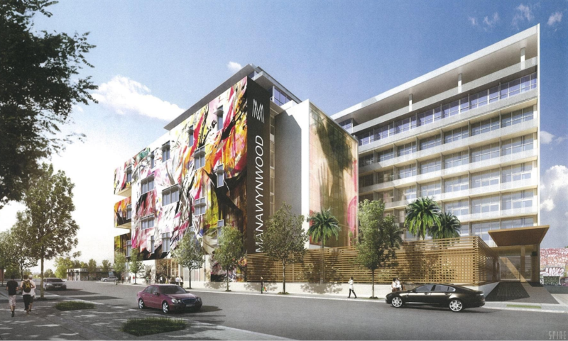 Developer Moishe Mana wants to build a 243,982 square-foot mixed-use complex as part of his proposed Mana Wynwood project.