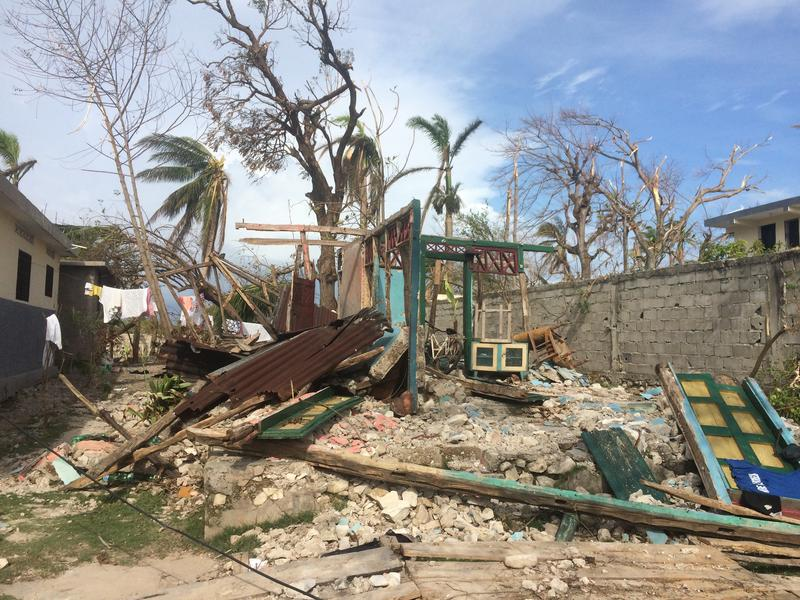 Homes that were not made entirely of concrete, including many of Haiti's traditional gingerbread-style houses, were reduced to rubble.