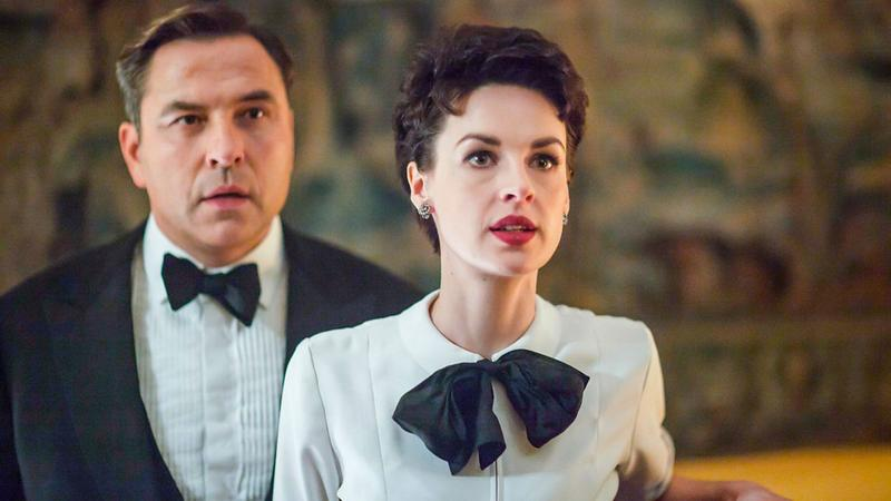 Jessica Raine and David Walliams as Tuppence and Tommy