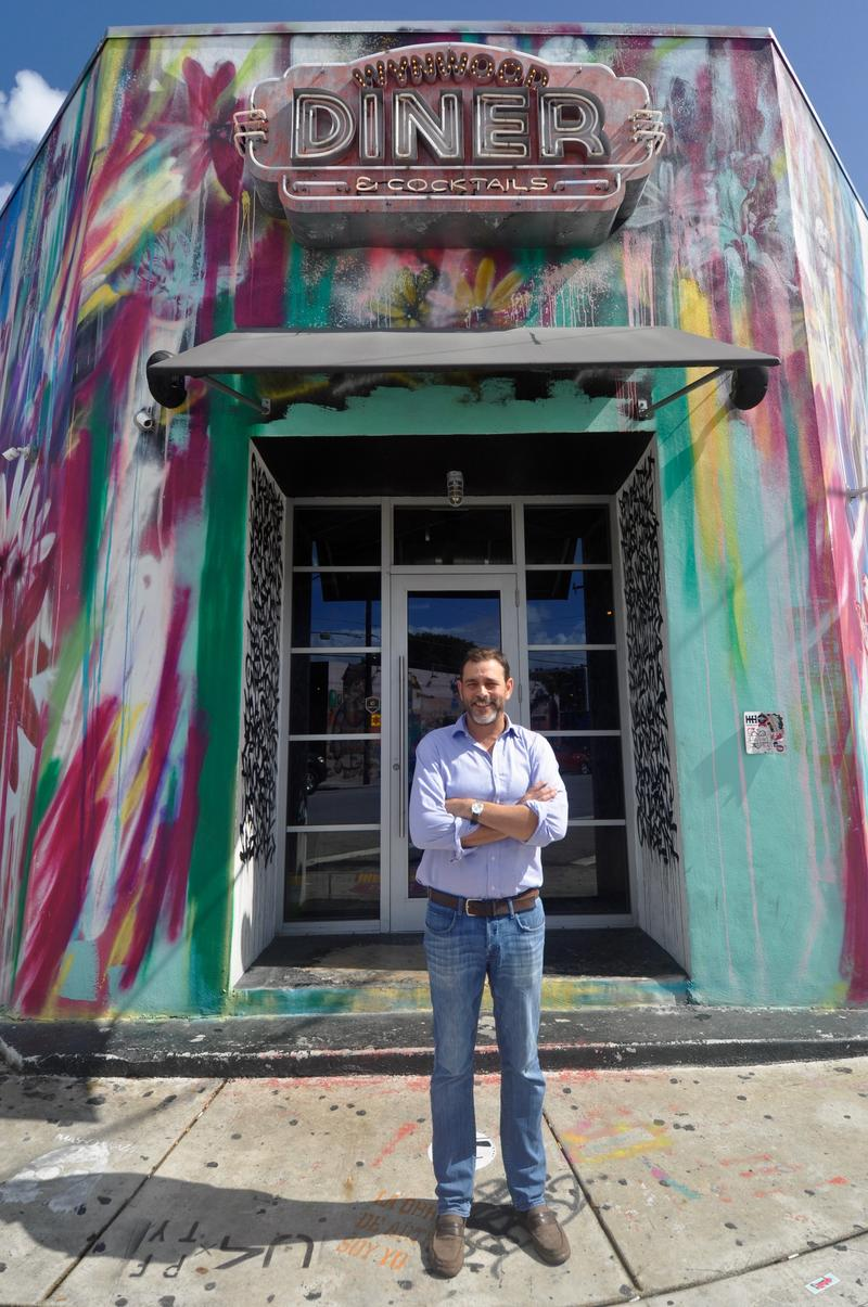 One month after the Zika zone was lifted from Wynwood, Donald Goldberg estimates business remains down 10-15 percent at his Wynwood Diner.