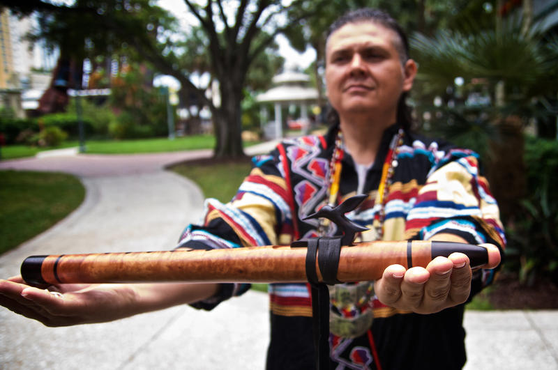 "Gordon Oliver ""Ollie"" Wareham began playing the native American flute in 2001."