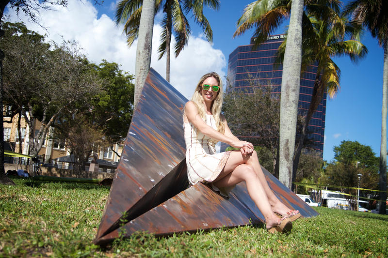 CANVAS Outdoor founder and curator Nicole Henry is a West Palm Beach gallery owner.