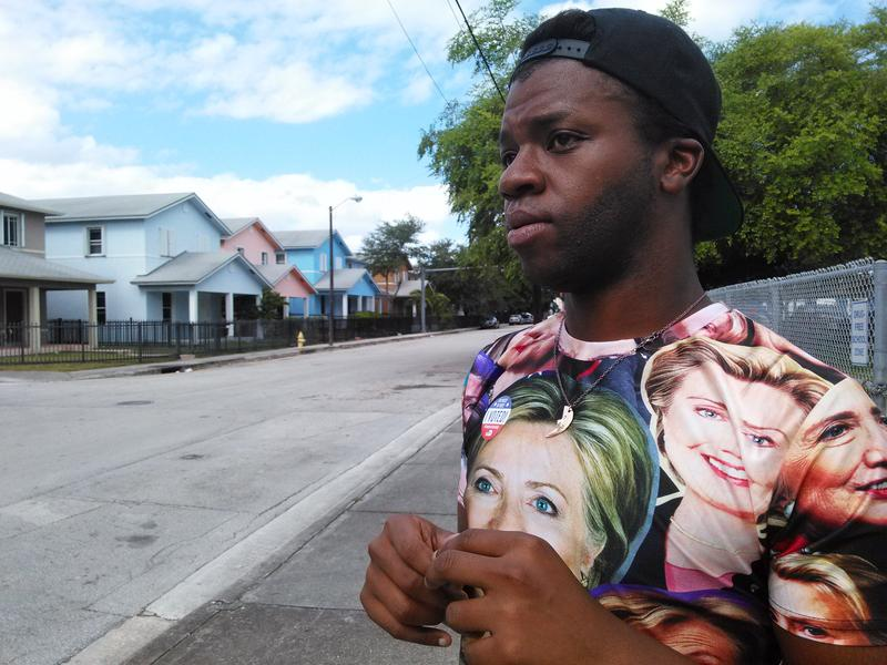 Edwin Sutton thought he wouldn't be able to vote in Florida because he never received his absentee ballot from Miami-Dade.