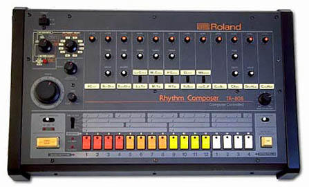The Roland TR-808 Rhythm Composer, which changes bass forever.
