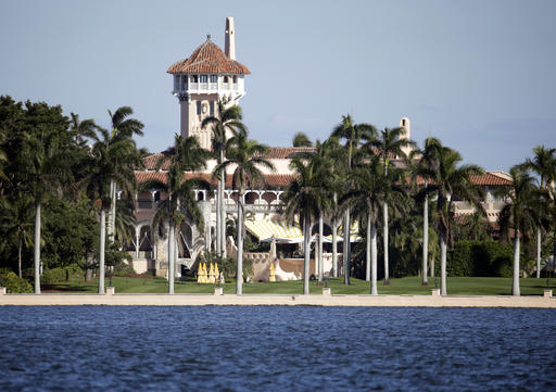 The Mar-a-Lago resort owned by President-elect Donald Trump in Palm Beach, Florida.