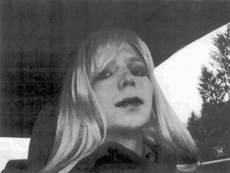 U.S. Army, Pfc. Chelsea Manning poses for a photo wearing a wig and lipstick. On Tuesday, Jan. 17, 2017, President Barack Obama commuted the sentence of Chelsea Manning, who leaked Army documents and is serving 35 years.