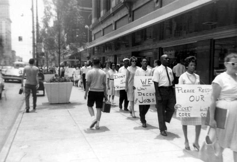 CORE - Civil Rights March in Miami, FL.