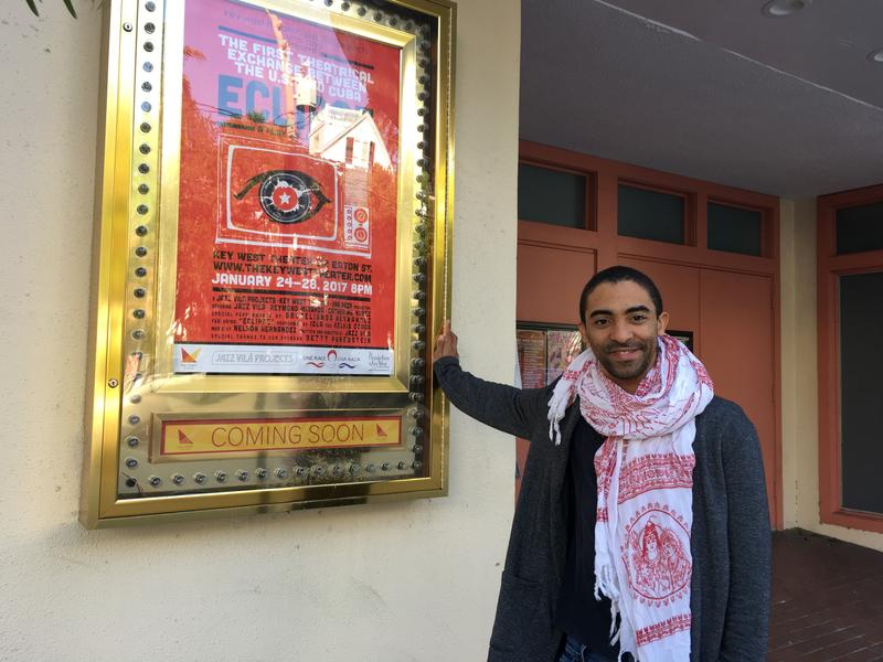 Cuban actor and director Jazz Vilá is in Key West with his play 'Eclipse.'