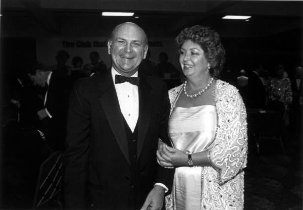 Wayne Huizenga, shown with his wife Marti.