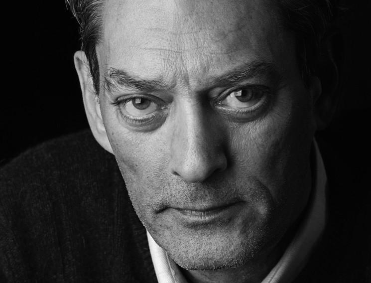 "Paul Auster's latest novel is ""4,3,2,1"""