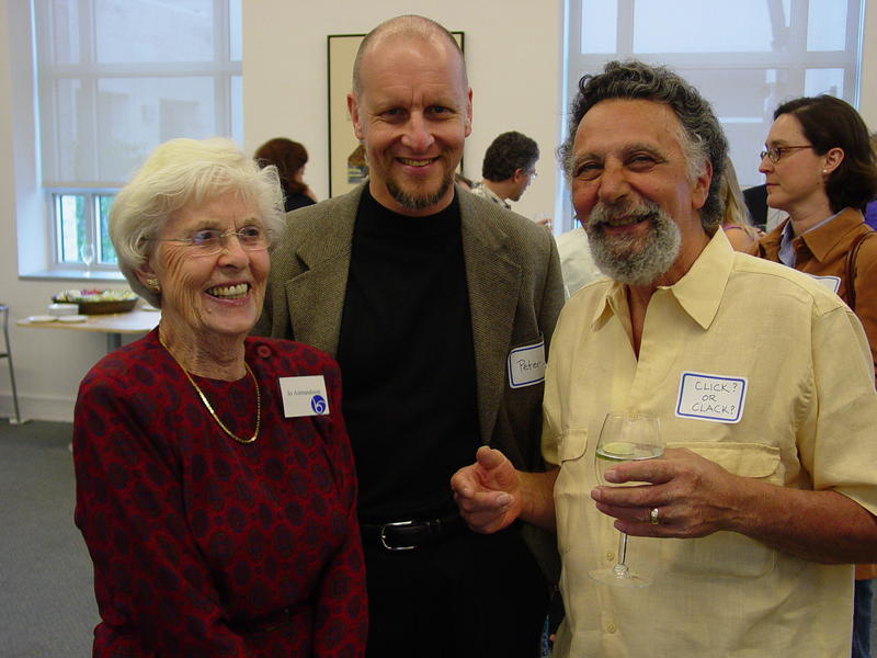 Pictured L-R, Jo Asmundsson, Peter J, and Tom Magliozzi, Co-host of NPR's Car Talk
